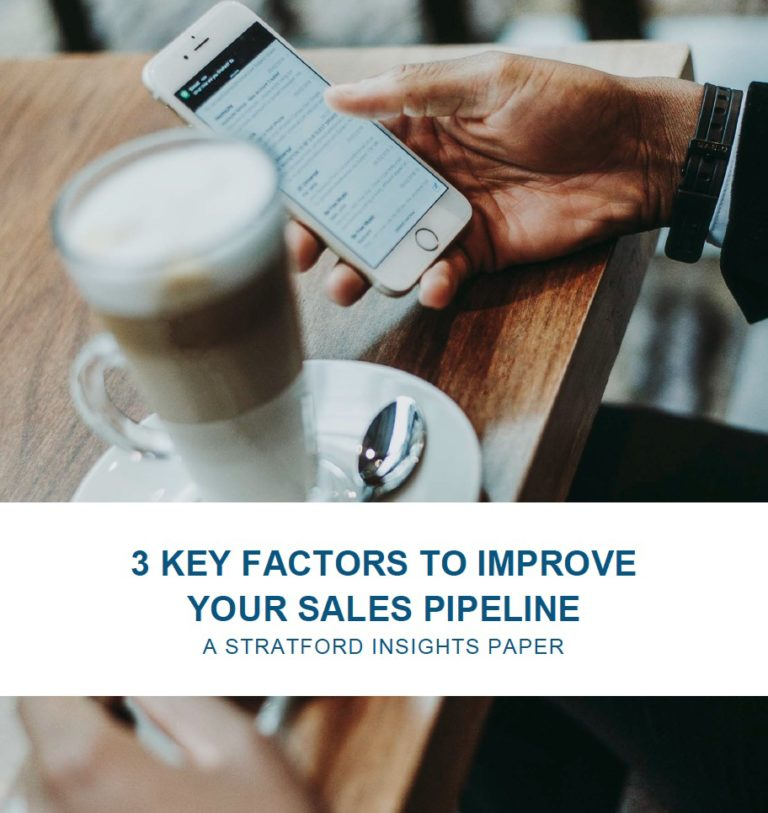 3 Key Factors to Improve Your Sales Pipeline Rose Cain