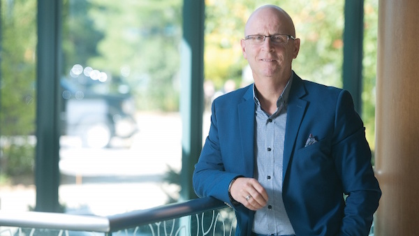 Photo by Mark Holleron from the Ottawa Business Journal: Kevin Ford, CEO of the Year