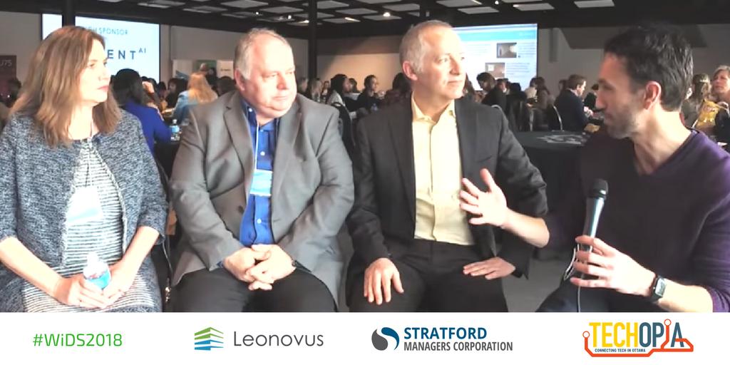 Techopia Live Leonovus Stratford Managers