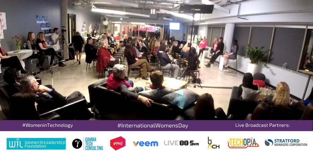 Women in Technology Techopia Live International Women's Day
