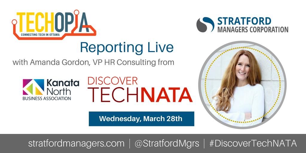 Techopia Live 2018 Discover TechNATA Amanda Gordon