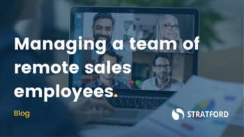 Managing a team of remote sales employees
